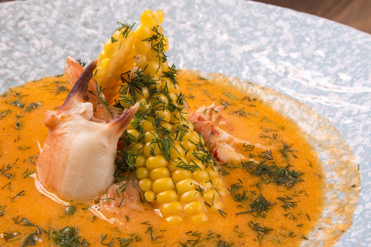 супа биск с морски дарове