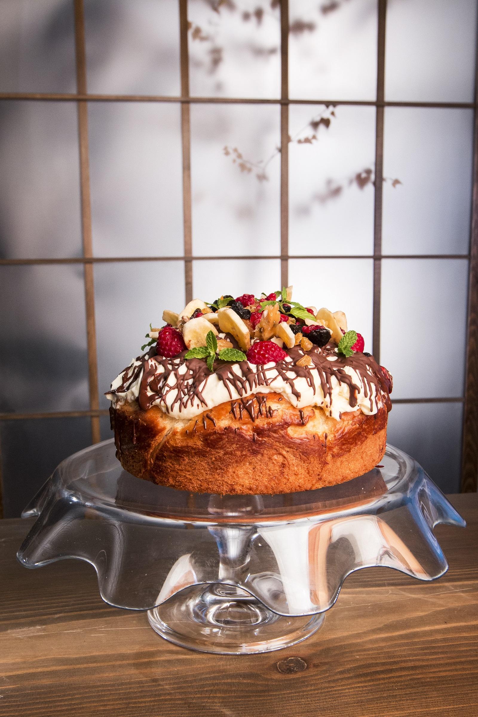 козуначена торта с маскарпоне