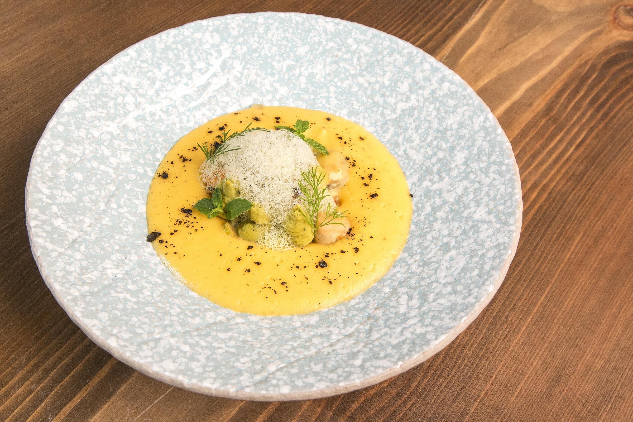 Крем-супа от миди