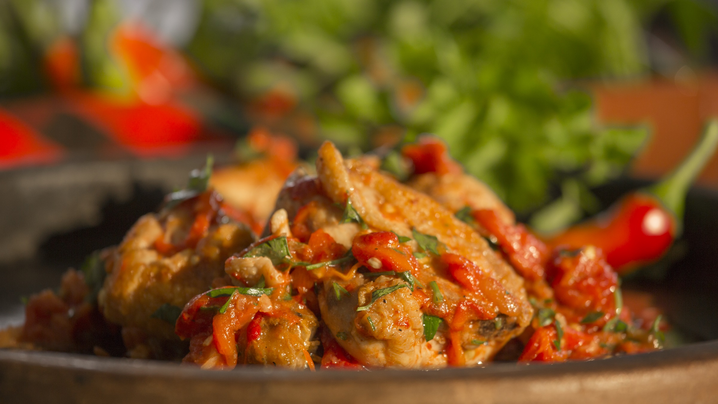 рецепта за пиле на лютика