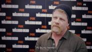 The Walking Dead - Michael Cudlitz Röportajı, Walker Stalker Londra 2016