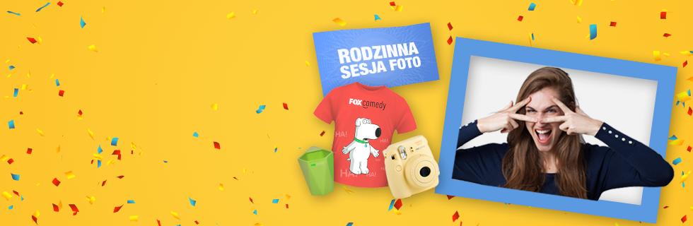 Urodzinowy konkurs FOX Comedy i Cyfrowego Polsatu!