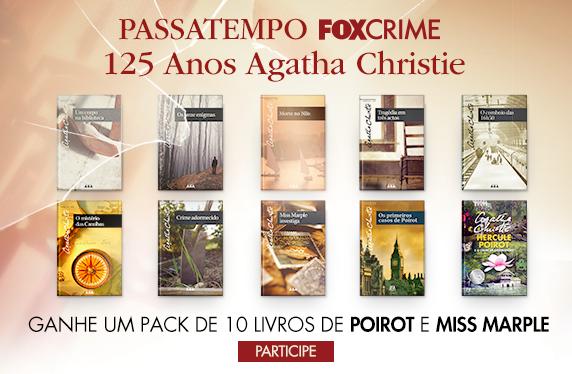 PASSATEMPO '125 ANOS DE AGATHA CHRISTIE' FOX CRIME