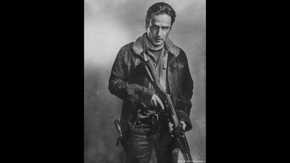 The Walking Dead 6- Retratos personajes