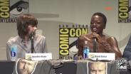 The Walking Dead na Comic-Con 2015: Chandler Riggs i Danai Gurira