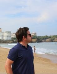 Benoît à la plage